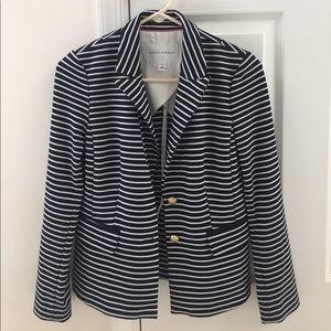 Banana Republic Jackets & Blazers - Banana Republic Navy Striped Blazer