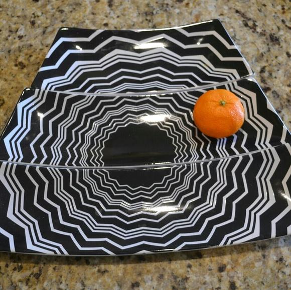 Missoni Other - Missoni Zig Zag Serving Platter Set of 3