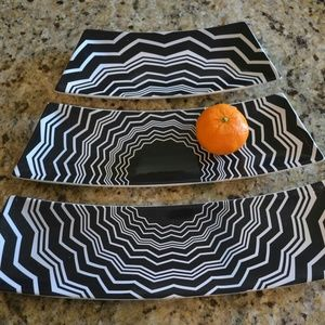 Missoni Zig Zag Serving Platter Set of 3