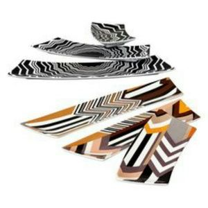 Missoni Other - Missoni Zig Zag Serving Platter Set of 3