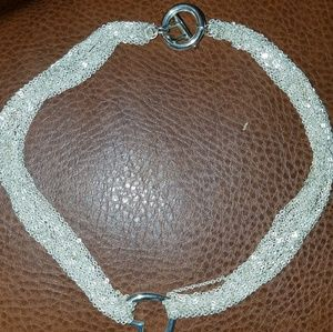 Jewelry - Floating heart choker