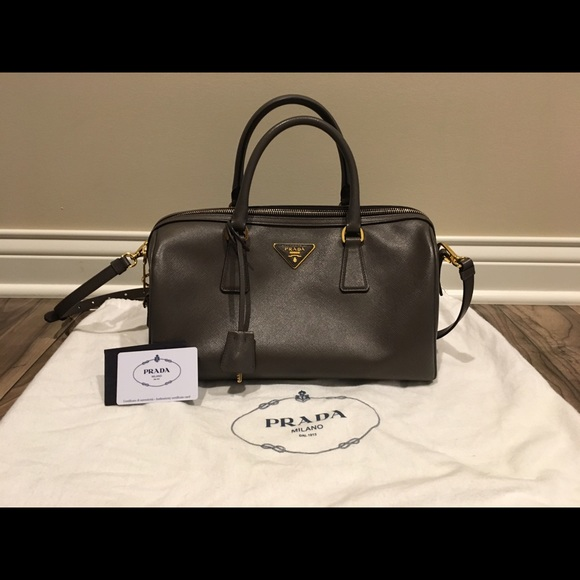 56dbc7f66fb8 Prada Bags | Authentic Lux Convertible Boston Bag | Poshmark