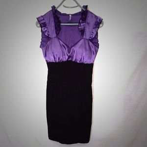 Moa Moa Dresses & Skirts - Stunning Purple and Black dress