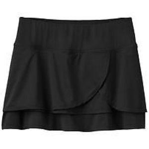 Athleta Dresses & Skirts - Athleta black ruffle fly by skort