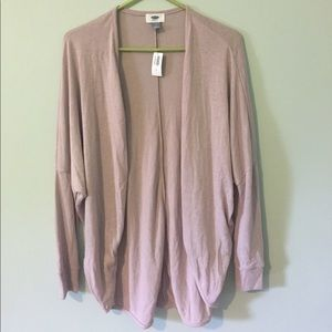 Old navy light pink purple cardigan