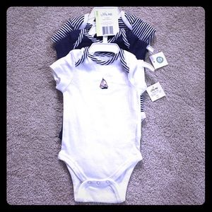 Little Me Other - 3 Piece Baby Boy Onesie Set