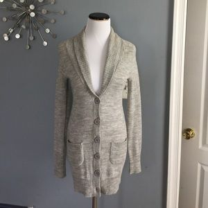 J.crew lightweight long cardigan