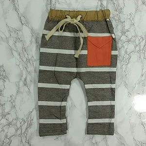 Other - Heather Brown Jogger pants. Kids