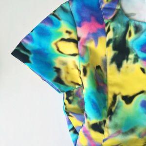 Love Moschino Dresses & Skirts - Love Moschino Colorful Tie Dye Shift Dress