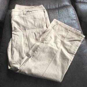 Lane Bryant khaki pants