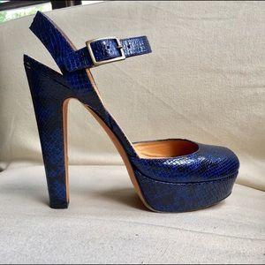 Kurt Geiger Shoes - Rare Kurt Geiger London Snakeskin Platform Heels