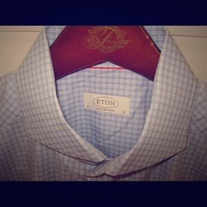 Eton Other - ETON Contemporary Fit Check Twill 16 41