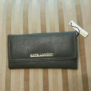 Kate Landry Handbags - Kate Landry Taupe Wallet. NWT