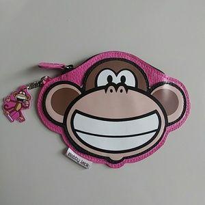 Bobby Jack coin/key purse.  Has ID slot on back.