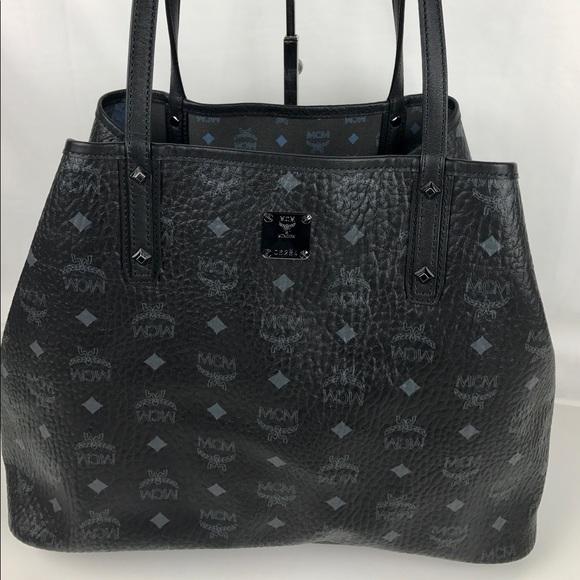 3d4a4d207e MCM Medium Project Visetos Reversible Shopper. M 590e31abea3f36d325083302.  Other Bags ...