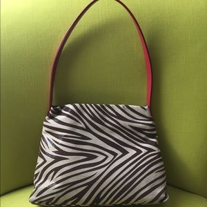 Gorgeous one of a kind animal print bag 😎