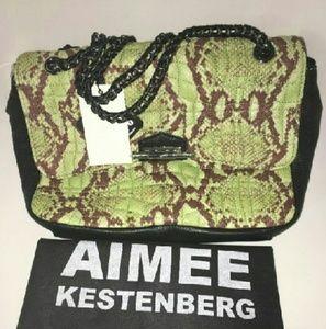 Aimee Kestenberg Handbags - Aimee Kestenberg Leather Cobra Clutch Purse NWT!