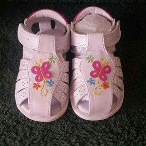 Rachel Other - Toddler Size 5m White Sandal