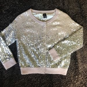 Bird by Juicy Couture Sweaters - 🦄Wool/cashmere blend sparkle cardigan🦄