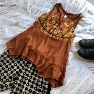 Anthropologie Tops - ✨ 2 for $20 / Anthro embroidered tribal top