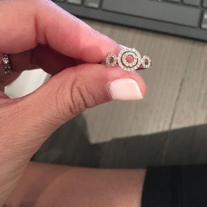 Jewelry - Micro pave circle ring