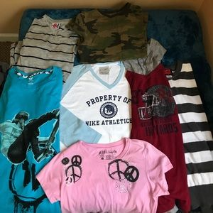 Other - Bundle of 7 Young teen Mixed top L/ XL