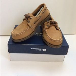 Sperry Other - Boys Sperry Top-sider Sahara Leather Size 9 1/2