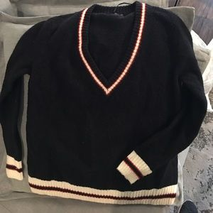 Zara v neck knit