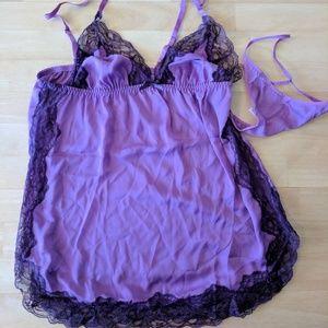 Other - Purple Plus Size Lingerie Set