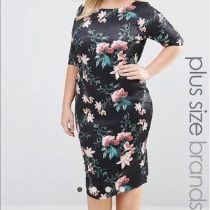AX Paris Curve Dresses & Skirts - 🆕 AX Paris Curve Floral Scuba Dress