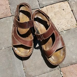 NAOT Shoes - NAOT leather sandals 38