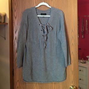 Lane bryant 18/20 grey sweater