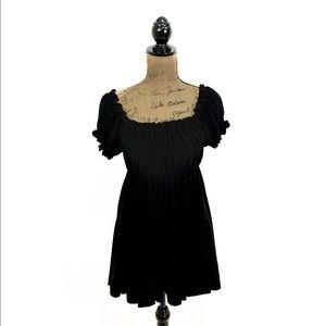 Norma Kamali Tops - NWOT Norma Kamali Timeless black Babydoll top