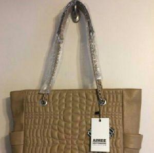 Aimee Kestenberg Handbags - Aimee Kestenberg Collection Quilted Shopper Tote