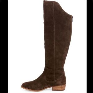 Steven Emmery Suede Riding Boot