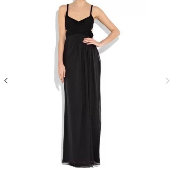 Gucci Dresses | Silkchiffon Crossfront Gown | Poshmark