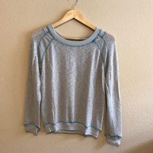 Sweaters - Lightweight Sweater   Sheer Panels