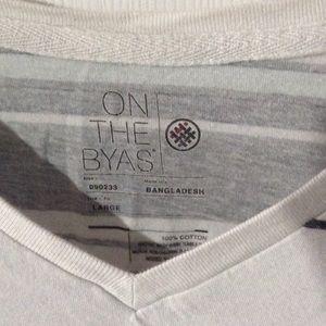 on the byas Shirts - On the byas mens v neck