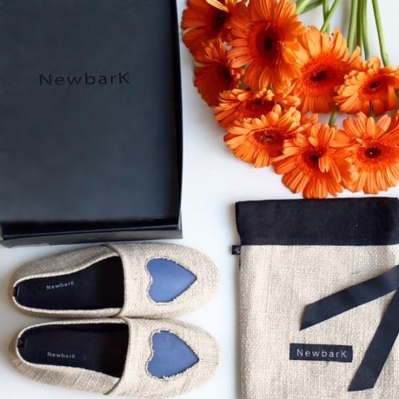 Newbark Shoes - 🎉500k SALE🎉NWB NewBark Woven Heart Flats