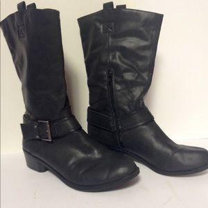 Worthington boots black 10