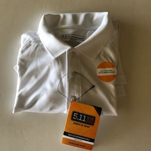 5.11 Tactical Other - Tactical uniform polo White