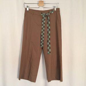 M by Missoni Pants - M by Missoni Tan Crop Pants Size 4