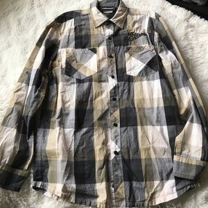 The Hundreds Other - 💣The Hundreds Plaid Long Sleeve💣