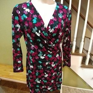 Bar III Floral Dress-XL