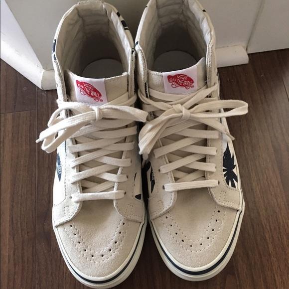 51 off vans other vans palm leaf highcut sneaker men 8