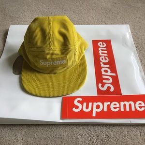 Supreme Other - NEW SS17 Supreme Corduroy camp hat