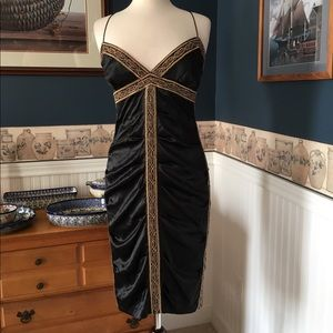 Nicole Miller Collection Dresses & Skirts - Nicole Miller beaded silk dress size 8
