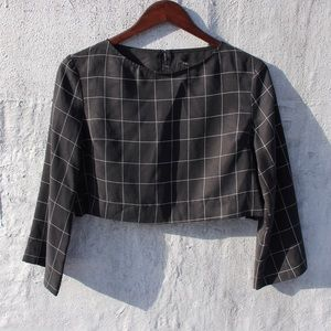 Reformation Tops - Reformation long sleeve crop top