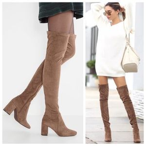 Jeffrey Campbell Shoes - Jeffery Campbell 'Cienega' Over the Knee Boots