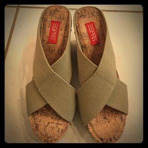 Esprit Shoes - Esprit Wedges Sz 8